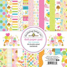 Hey Cupcake 6x6 Paper Pad