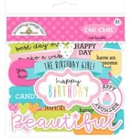 Hey Cupcake Die Cuts- Chit Chat