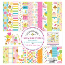Hey Cupcake 12x12 Paper Pack