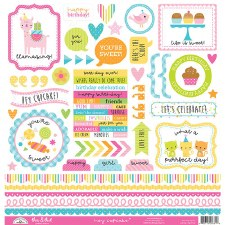 Hey Cupcake Stickers- This & That