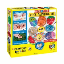 Creativity for Kids Craft Kit- Hide & Seek Rock Painting
