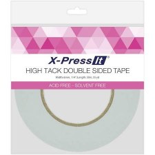 """X-Press It High Tack Double Sided Tape- 1/4"""""""