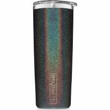 Highball Tumbler 12oz- Glitter Charcoal