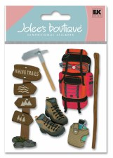 Jolee's Outdoors Dimensional Stickers- Hiking Trip