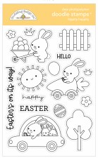 Hippity Hoppity Stamps/Die Cuts- Doodle Stamps