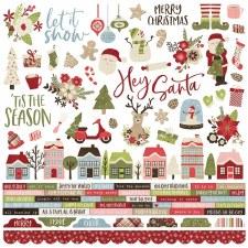 Holly Jolly Sticker Sheet