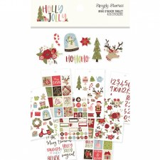 Holly Jolly Mini Sticker Tablet