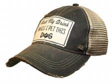 Women's Trucker Baseball Cap- Hold My Drink
