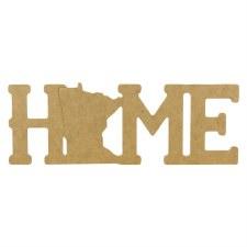 "Minnesota Home MDF Cut Out- 12"""