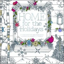 Adult Coloring Book- Home for the Holidays