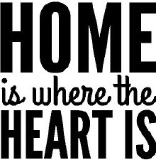 """""""Home is Where the Heart Is"""" Vinyl"""