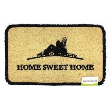 Natural Fiber Door Mat- Home Sweet Home Farm