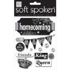 MAMBI Soft Spoken Stickers- School- Homecoming Crown