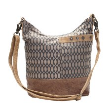 Myra Shoulder Bag- Honey Bee Print