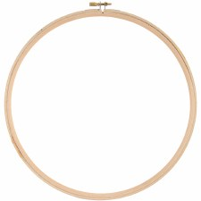 """Wood Embroidery Hoop- 10"""""""