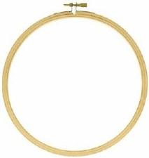 """Wood Embroidery Hoop- 7"""""""