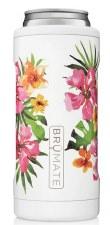 Hopsulator Slim Cooler- Floral, Hibiscus