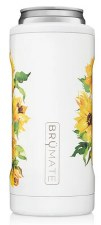 Hopsulator Slim Cooler- Floral, Sunflower