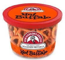 Von Hanson's 4oz Pretzel Cup- Hot Buffalo