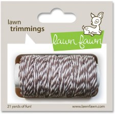 Lawn Fawn Trimmings Cord- Hot Cocoa