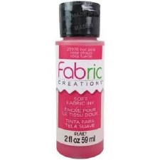 Fabric Creations 2oz Fabric Paint- Hot Pink