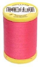 Coats & Clark - Cotton Sewing Thread - Hot Pink