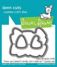 Lawn Fawn How You Bean? Candy Corn Craft Dies