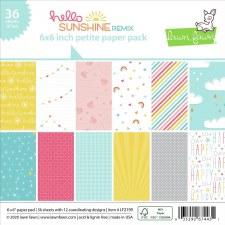 Hello Sunshine Remix 6x6 Petite Paper Pack