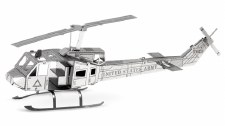 Metal Earth 3D Metal Model Kit- Aircraft, Huey Helicopter