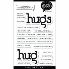 Say It in Stamps Hugs Words Stamp Set