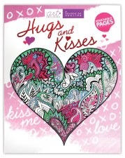 Art Unplugged Adult Coloring Book- Hugs & Kisses