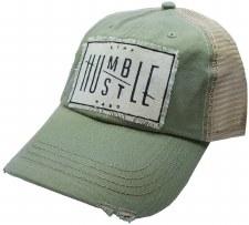 Women's Trucker Baseball Cap- Stay Humble, Hustle Hard