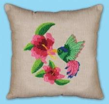 Punch Needle Pillow Kit- Hummingbird