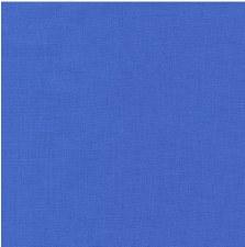 """Kona Cotton 44"""" Fabric- Blues- Hyacinth"""