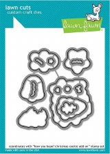 Lawn Fawn How Ya Bean? Christmas Cookies Craft Dies Add-On