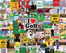 I Love Golf - 1,000 Piece Puzzle
