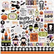I Love Halloween Sticker Sheet