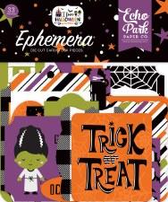 I Love Halloween Die Cuts- Ephemera