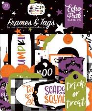 I Love Halloween Die Cuts- Frames & Tags