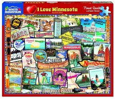 I Love Minnesota - 1000 piece puzzle