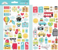 I (Heart) Travel Stickers- Mini Icons