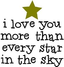 """""""I Love You More Than Every Star..."""" Vinyl"""