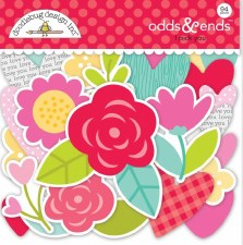 Love Notes Die Cuts- I Pick You Odds & Ends