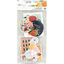 Dear Lizzy It's All Good Ephemera Die Cuts