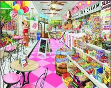 Ice Cream Parlor - 1,000 Piece Puzzle