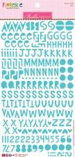 Florence Alphabet Stickers- Ice