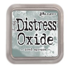 Tim Holtz Distress Oxide- Iced Spruce Ink Pad
