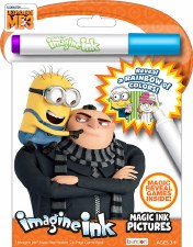 Imagine Ink Magic Ink Pictures- Despicable Me 3