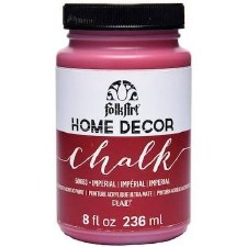 FolkArt Home Decor Chalk Paint 8 oz- Imperial