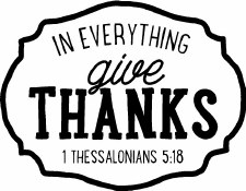 In Everything Give Thanks Vinyl
